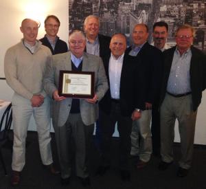 Dow Safety Award presentation
